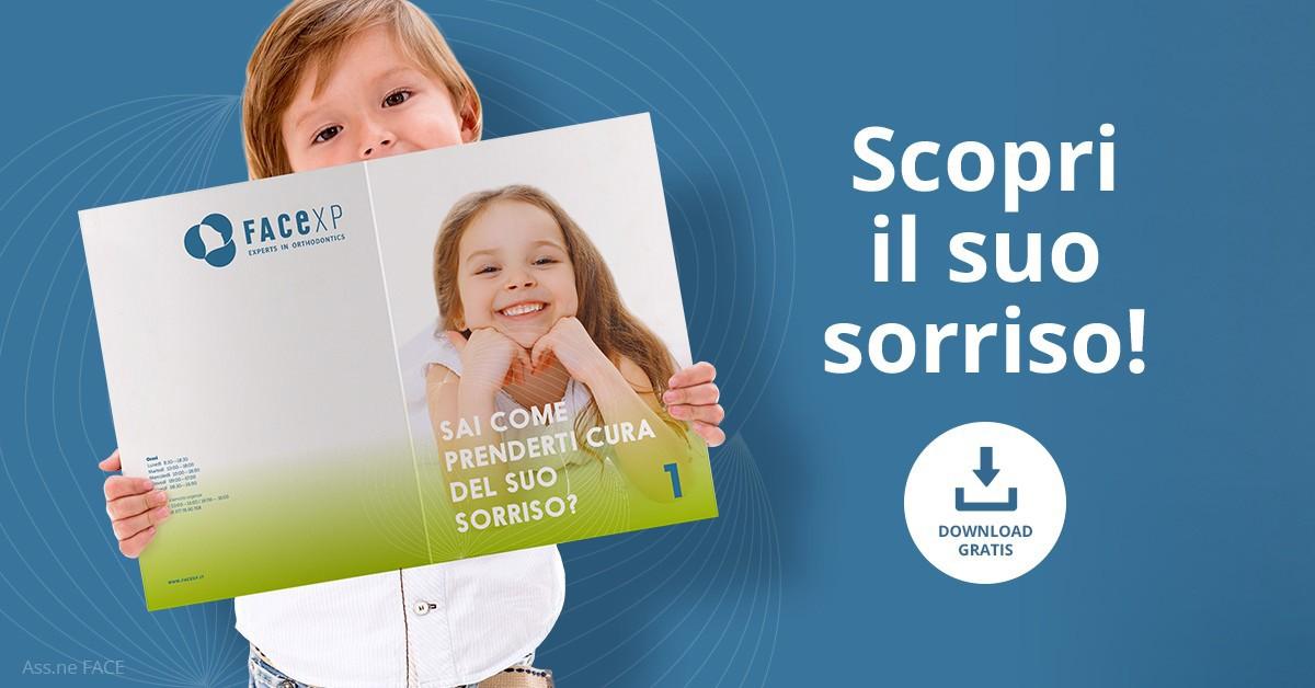 opuscolo ortodontico bambini